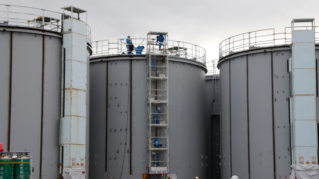 Fukushima Japanse overheid miljoen ton radioactief afvalwater