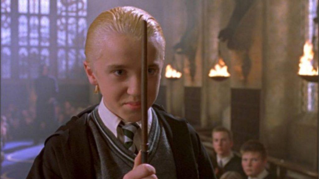 Draco Malfidus Harry Potter films