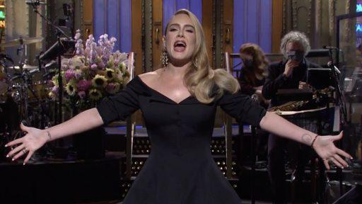 Adele vermagerd eerste tv-optreden drie jaar