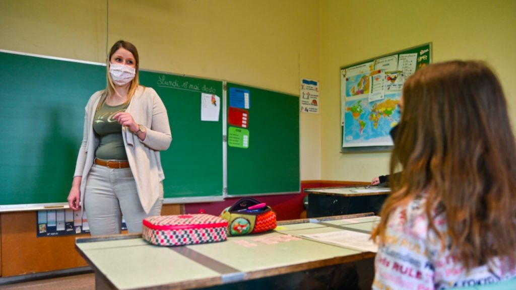 Onderwijs code oranje leerlingen fysiek aanwezig
