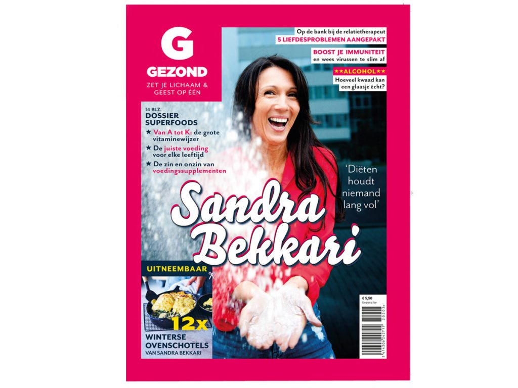 Vanaf vandaag in de winkel: de wintereditie van ons magazine Gezond (en dit staat er allemaal in!)