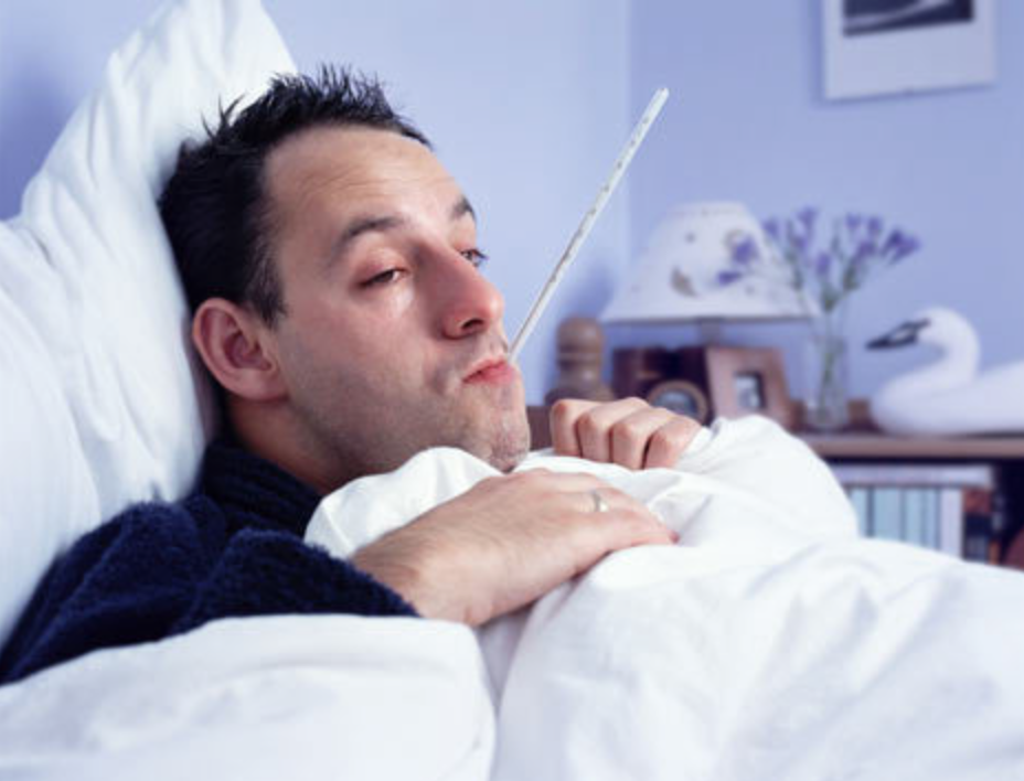 10 zaken die mannen ALTIJD doen als ze ziek zijn