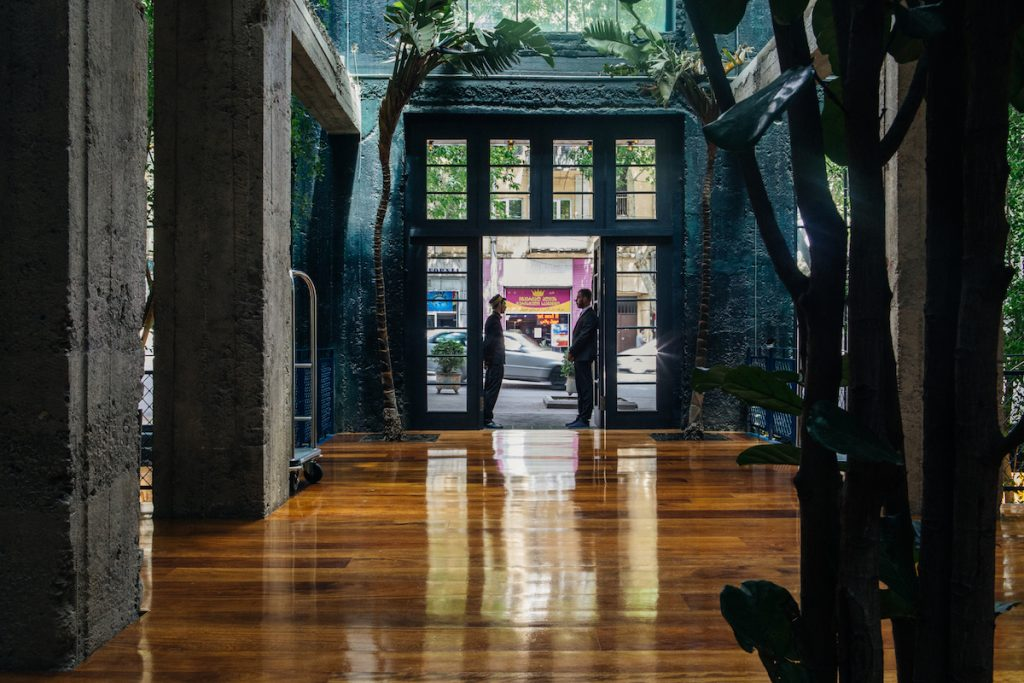 Logeertip in Tbilisi, Georgië: Stamba Hotel