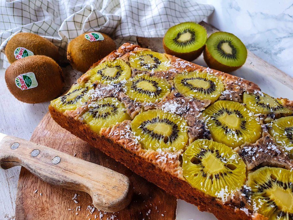 Recept: ontbijtcake met kiwi (héérlijk voor een luie zaterdag!)
