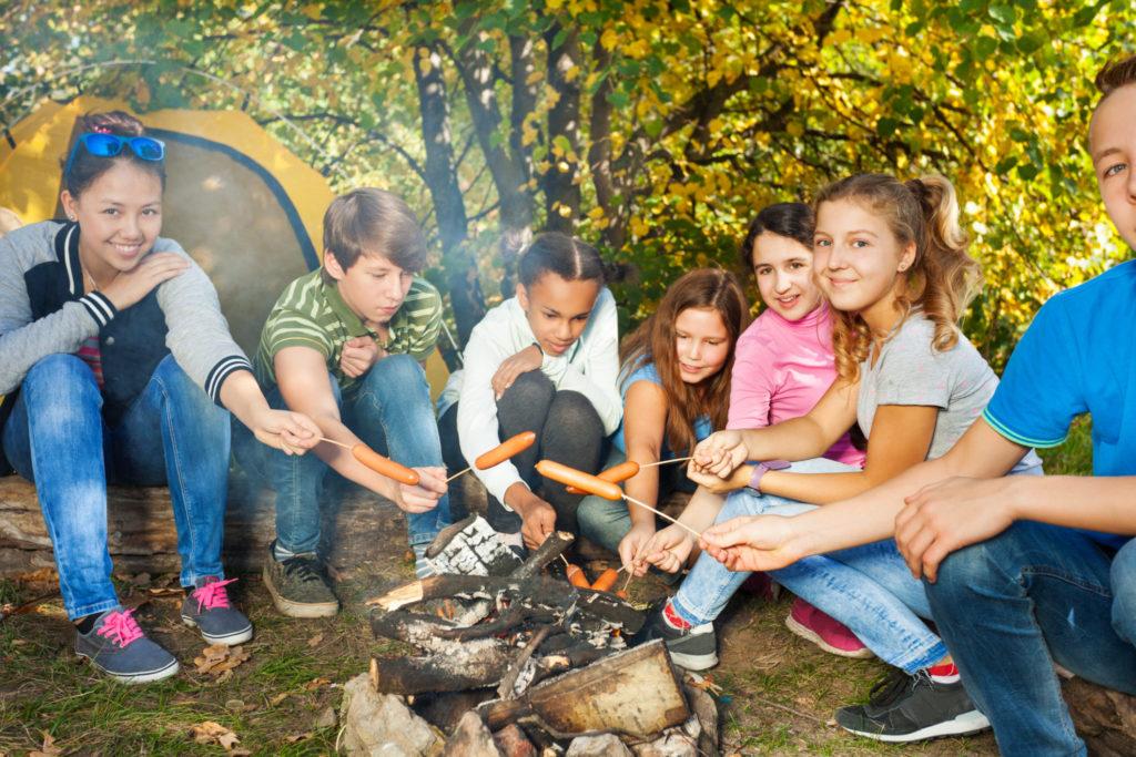 3 geboden voor een veilig kamp