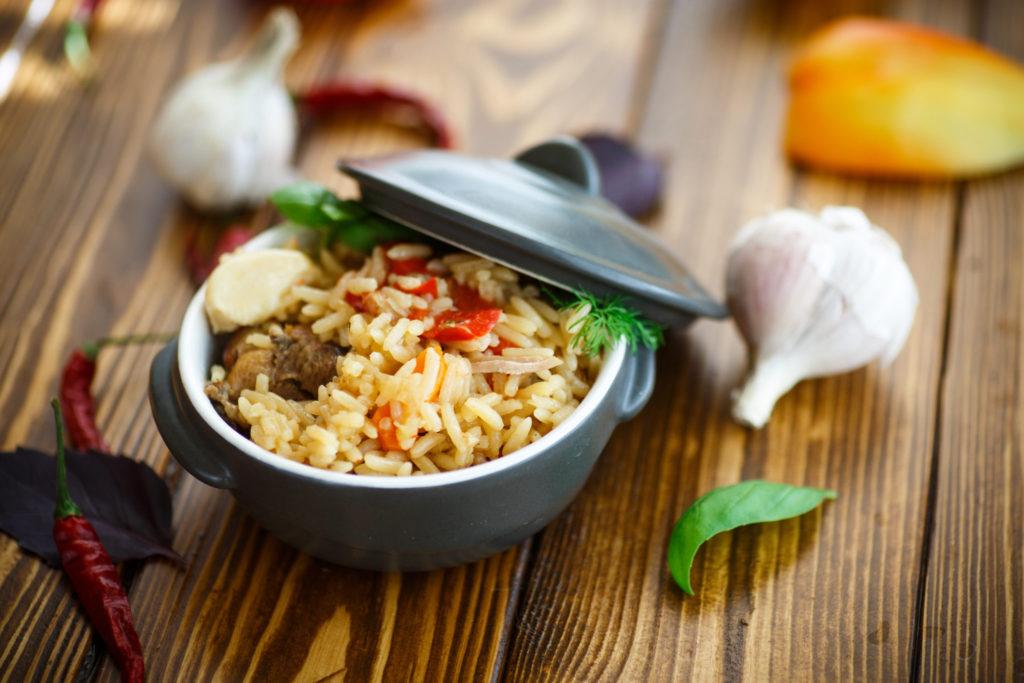3 X gerechten met rijst