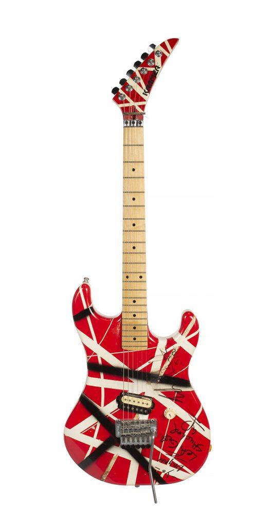Van Halen Gitaren Veiling