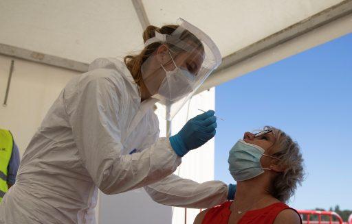 België overschrijdt kaap van 100.000 besmettingen