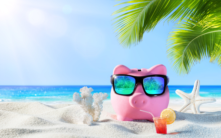 4 manieren om in no time je zomervakantie bij elkaar te sparen
