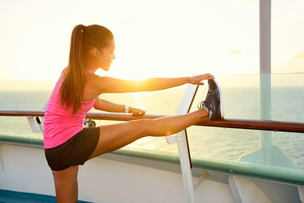 4 X stretchoefeningen voor na het sporten