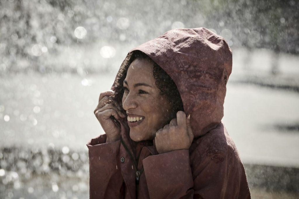 Vangst van de dag: de stijlvolle Mineo-regenjas van Vaude
