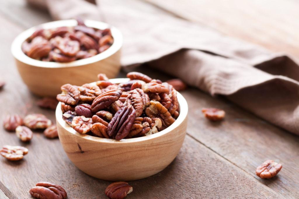 5 redenen om pecannoten te eten