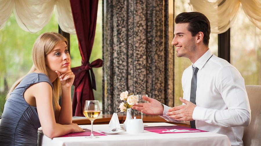 5 verboden onderwerpen tijdens de eerste date