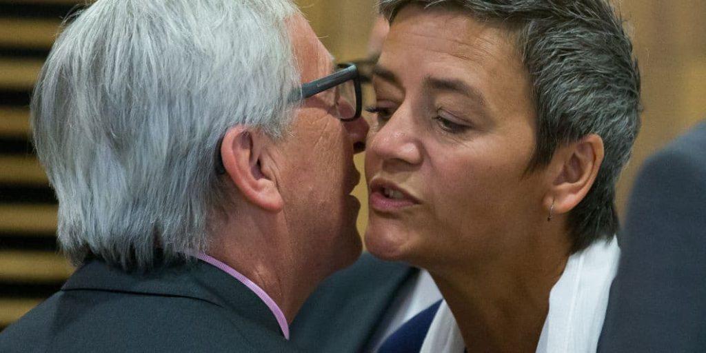 Juncker et Vestager