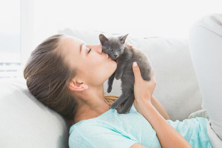 8 tekenen dat je van je kat houdt