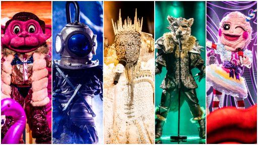 Aap Duiker Koningin Wolf Suikerspin The Masked Singer