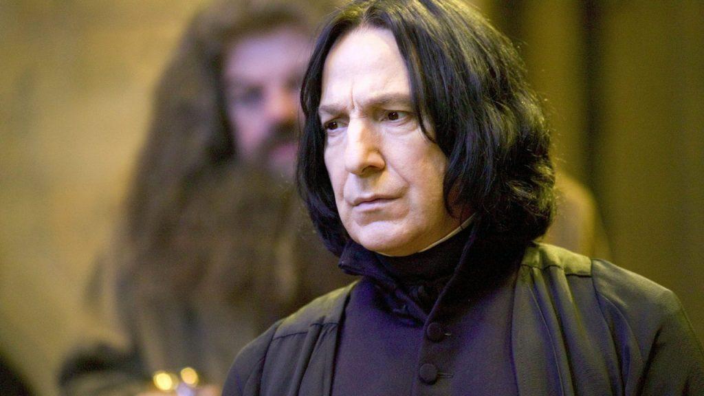 Alan Rickman Severus Snape Harry Potter Dagboeken