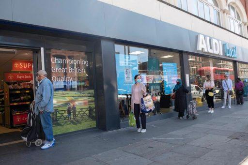 Aldi lance une offensive au Royaume-Uni: 100 nouveaux magasins prévus