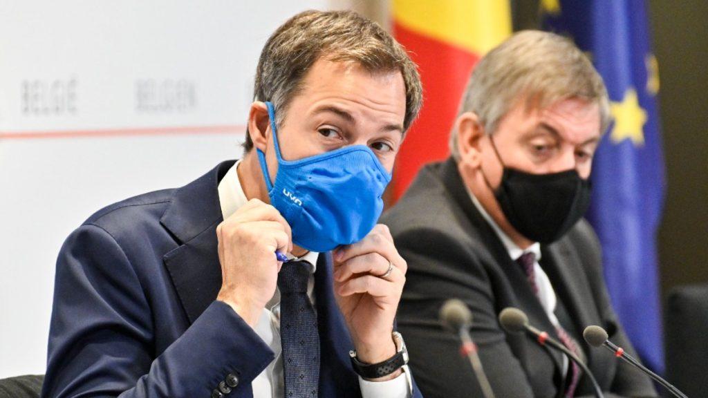 Alexander De Croo (Open Vld) en Jan Jambon (N-VA)