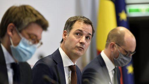 Alexander De Croo Overlegcomité
