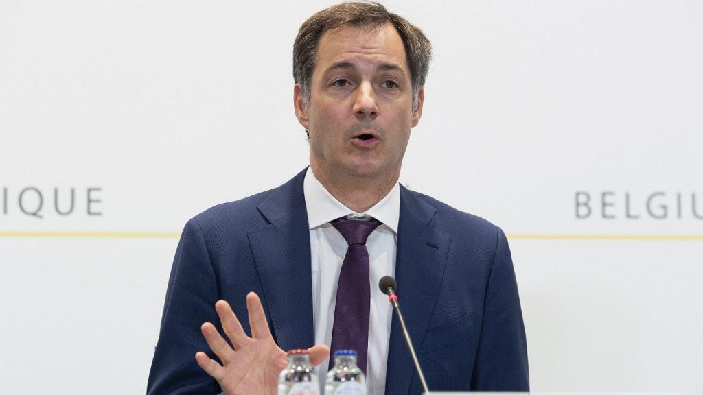 Alexander De Croo persconferentie Overlegcomité