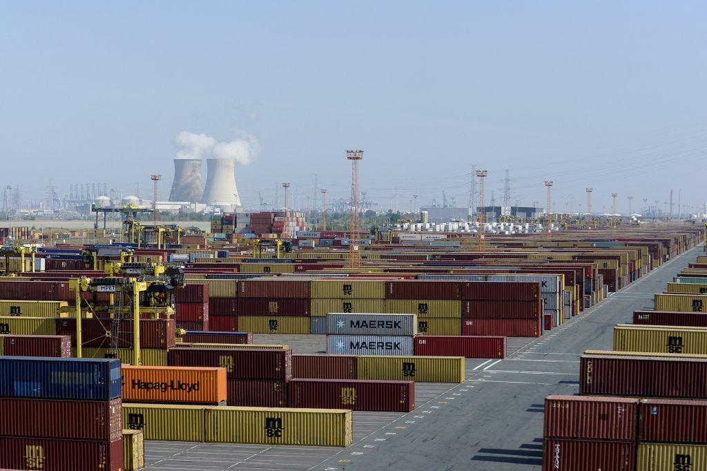Containers haven Antwerpen