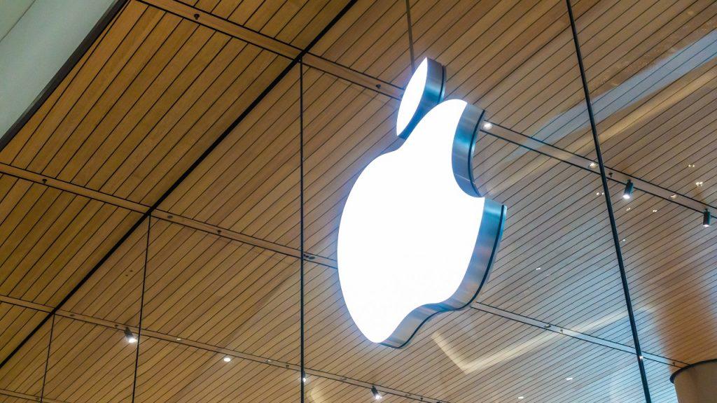 Apple logo winkel