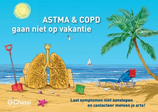Astma & COPD gaan niet op vakantie