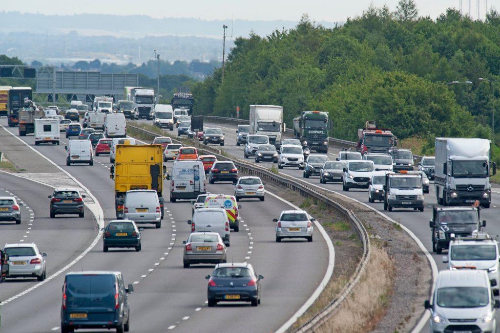 Autoverkeer vervuiling