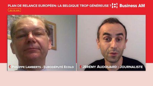 Plan de relance européen : 'Il n'est pas anormal que la contribution belge soit plus que proportionnelle'