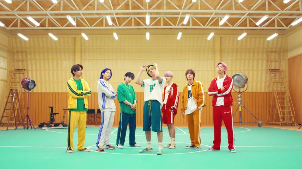 BTS Butter Billboard