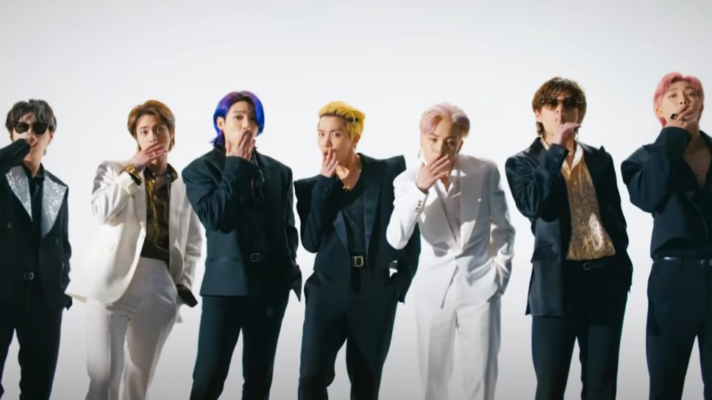 BTS Butter record