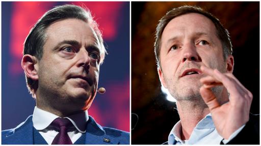 Wie springt mee in de dans? De 'chicken game' van Paul Magnette en Bart De Wever met liberalen en groenen