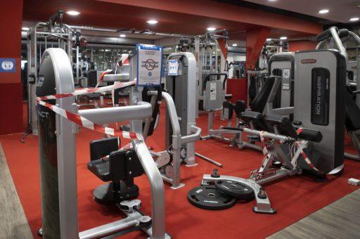 Ruim helft fitnessclubs van Basic-Fit in België weer dicht