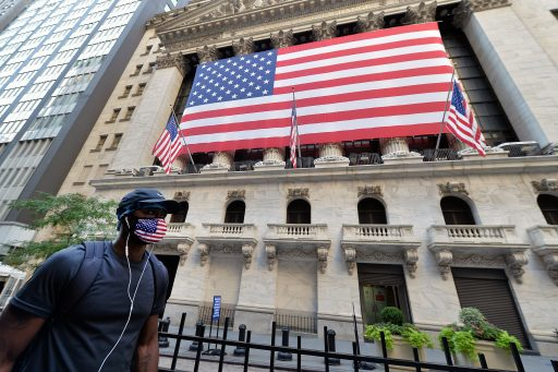 Wall Street onderuit na recordaantal nieuwe coronabesmettingen
