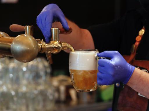 Tsjechen hebben hun bierverbruik drastisch moeten terugschroeven