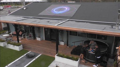 Big Brother 2021 huis luchtfoto
