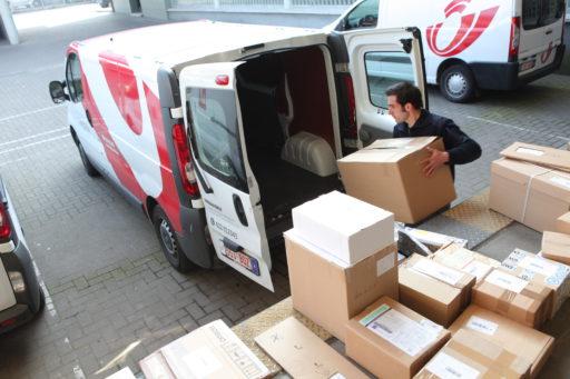 Europese beurzen staan op de rem, Bpost uitblinker in Brussel