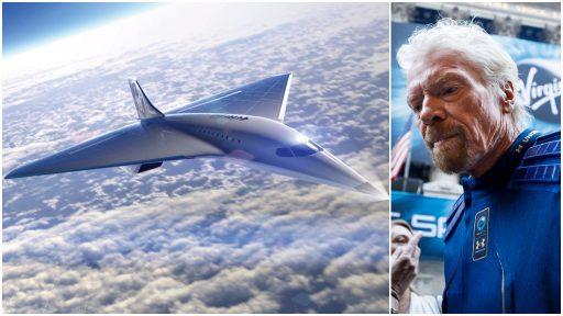 Virgin Galactic onthult nieuw supersonisch passagiersvliegtuig