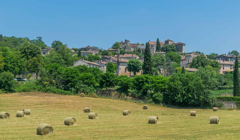 Het Franse dorpje Bruniquel