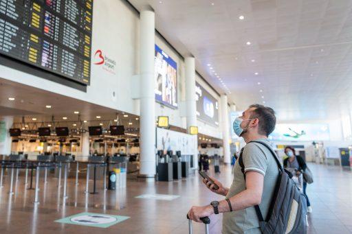 Brussels Airport ontvangt weer meer dan 10.000 passagiers per dag