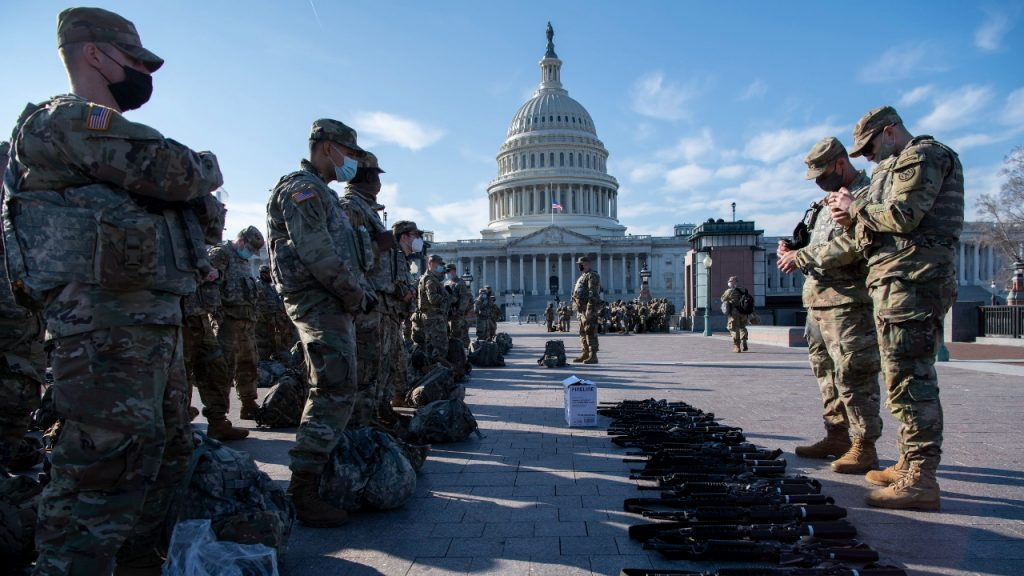 Capitool VS Nationale Garde