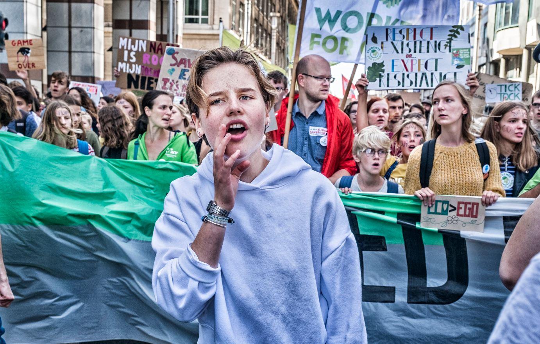 Klimaatactiviste Anuna De Wever op bezoek bij Duitse bondskanselier Merkel: 'Ik hoop dat ze goed luistert'
