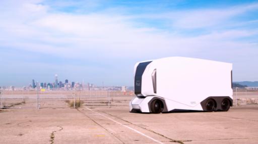 Pod, le camion électrique sans chauffeur que l'on croisera peut-être bientôt sur nos routes