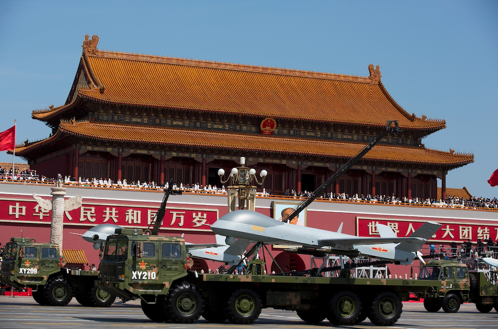 China drone Wing Loong