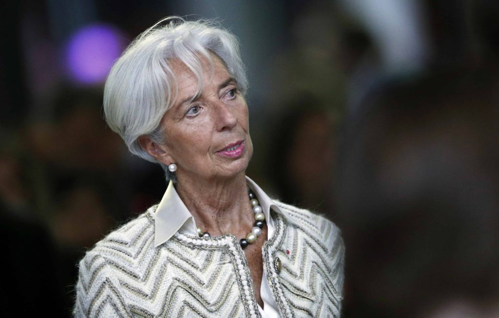 IMF - Christine Lagarde