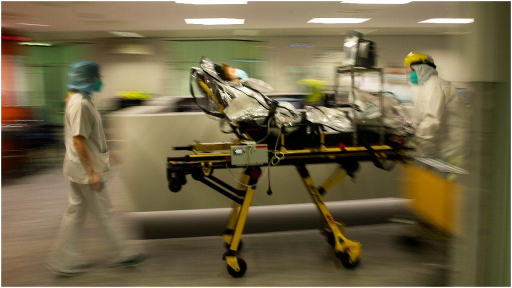 Corona ziekenhuis België