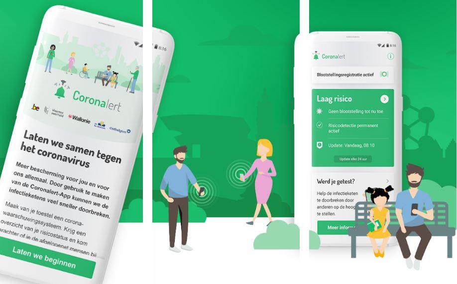'Coronalert'-app heeft al 1 miljoen downloads