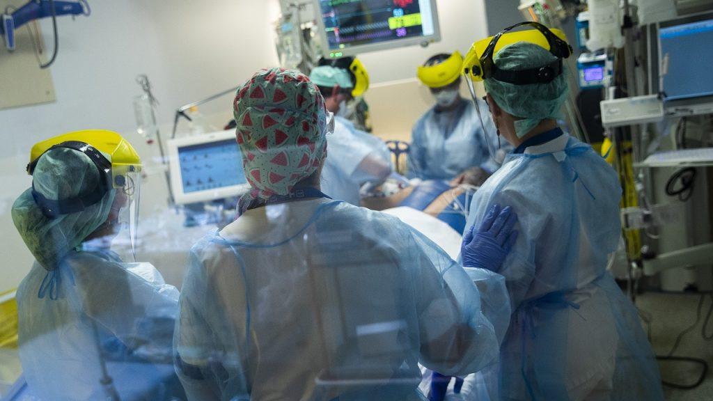 Coronavirus Brussel ziekenhuis