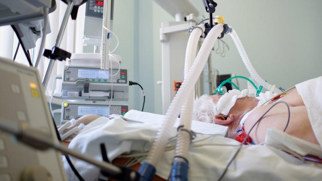 Coronavirus patiënt ziekenhuis